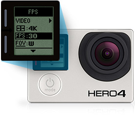 gopro neues menu