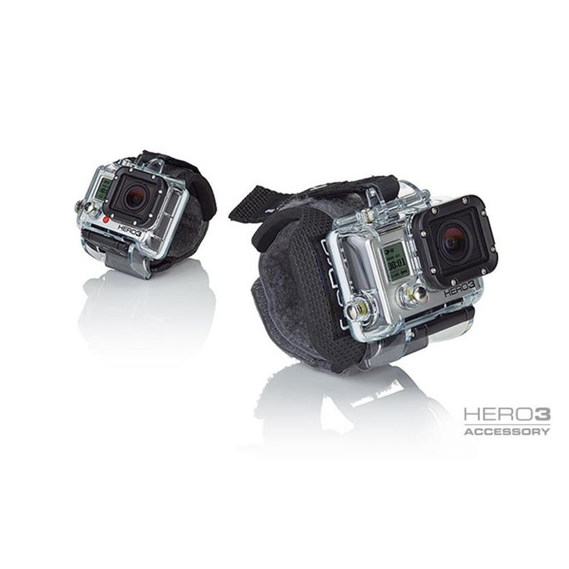 how to use gopro wrist housing