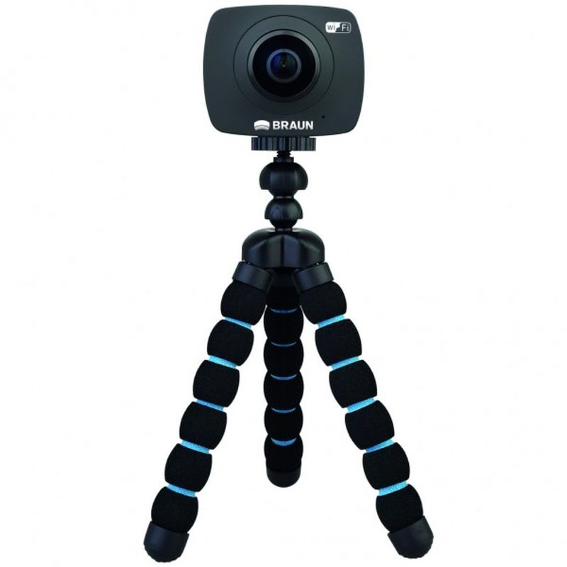 360 Grad Actioncam Braun Champion360 - Wasserdicht